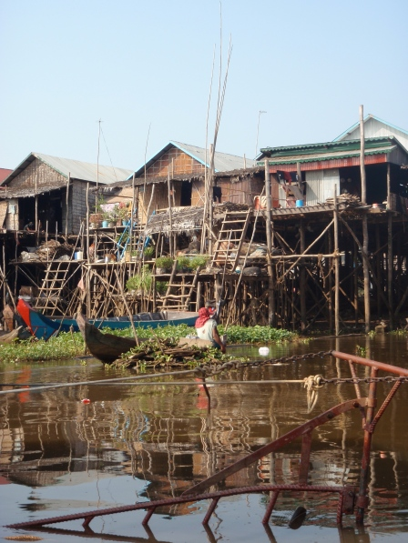 The floating village